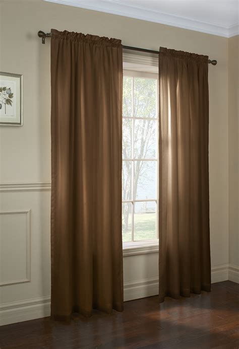 the curtain rod shop rhapsody lined thermavoile grommet top panels