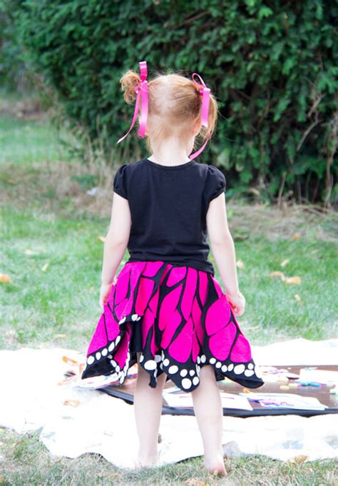 Handmade Butterfly Costume - handmade costume series diy twirly butterfly skirt