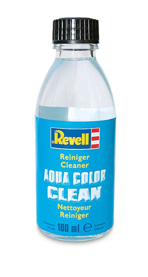 acrylic paint cleaner revell 100ml aqua colour acrylic brush cleaner 39620