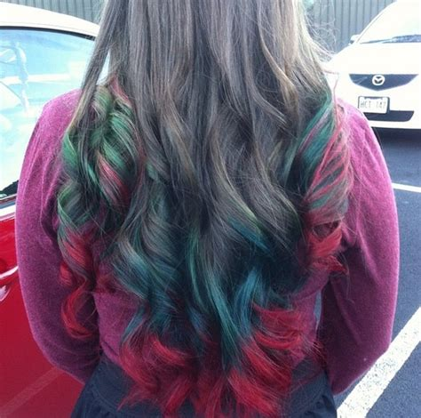 christmas themed hair christmas themed hair color is surprisingly stunning