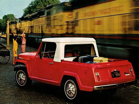 71 Jeep Truck Jeep Jeepster Commando 01 1967 71
