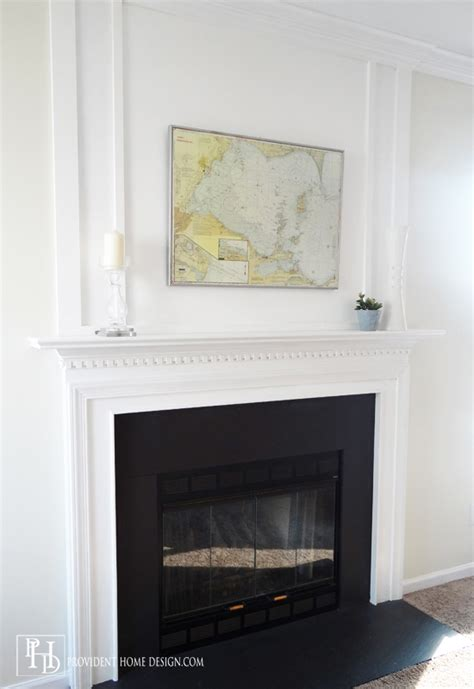 How To Fireplace by Remodelaholic How To Add Woodwork Trim Above The