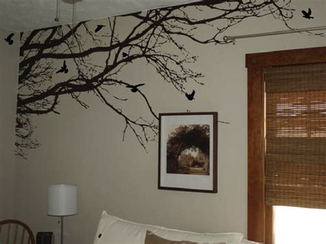 Large Wall Tree Nursery Decal Oak Branches 1130 | large wall tree nursery decal oak branches by