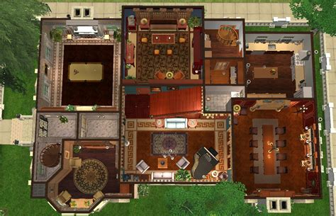 Multifamily Floor Plans mod the sims schinasi mansion june s house neal s