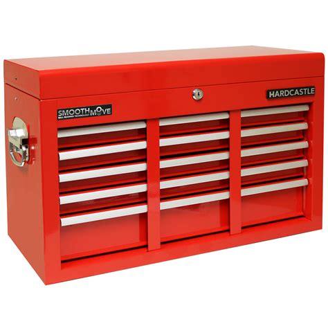 metal tool storage drawers hardcastle red 9 drawer metal top chest tool storage box