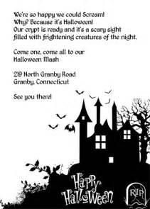 halloween invitations free templates halloween haunted house printable invitation wedding