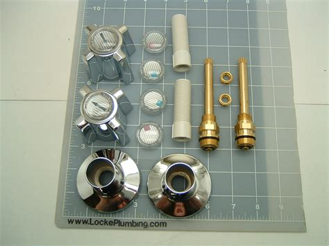 Sterling Shower Faucet Repair by Sterling Two Handle Tub And Shower Rebuild Kit Locke