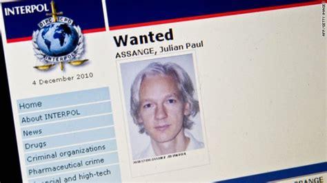 Interpol Warrant Search Julian Assange Arrested In