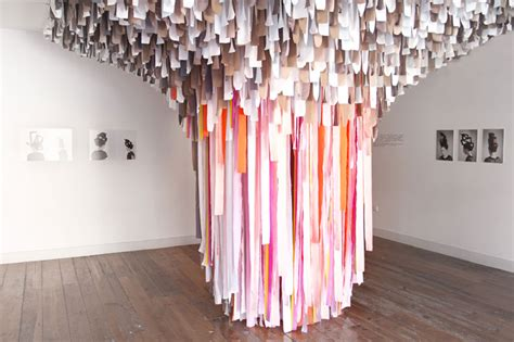 Trends In Bathroom Design Textile Installation Art Yellowtrace