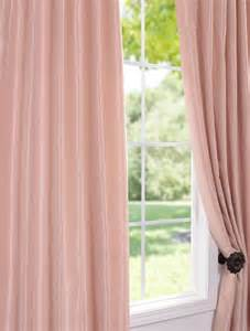 Blush Colored Curtains Savings On Vintage Textured Faux Dupioni Silk Curtains