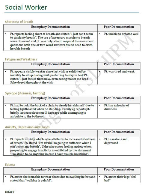 Social Work Documentation Template Best Photos Of Social Work Portfolio Exle Social Work Documentation Hospice Exles