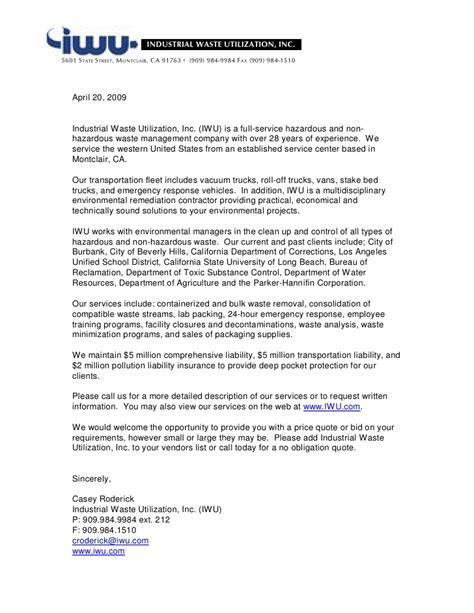 Introduction Letter Sle For Company Introduction Letter To Business 28 Images Sle Business