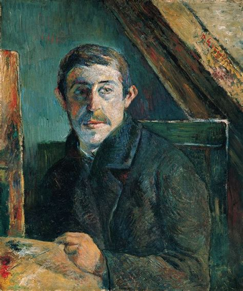 gauguin by himself paul gauguin self portrait 1885 examination of the painting under infrared light and with