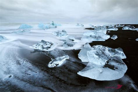 black sand 3 5 matteo colombo travel photography icebergs on black sand