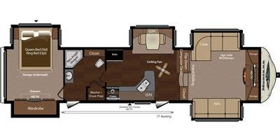 montana travel trailer floor plans 2015 keystone montana 3750fl trailer reviews prices and