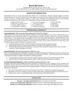 Exle Resume Elementary School To Principal 51 Best Images About Assistant Principal On Principal And Teaching