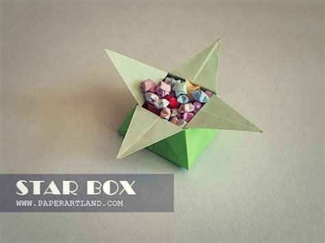Cool Origami Boxes - how to make a a cool origami box box