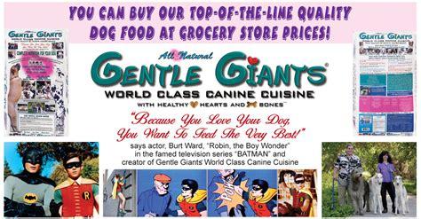 gentle giants food gentle giants canine cuisine gentle giants world class canine cuisine food large