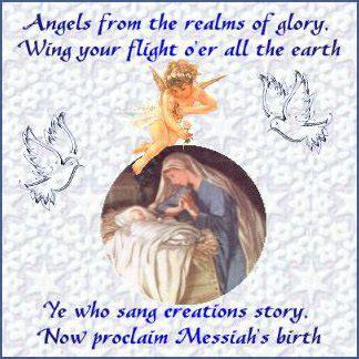 christmas religious postcards