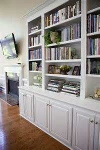 Bookshelves Look Built In 29 Built In Bookshelves Ideas For Your Home Digsdigs