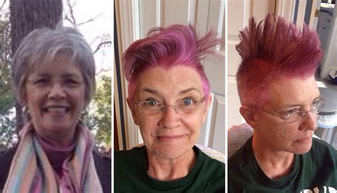 pre chemo mohawk mom asked her daughter for something fun before chemo