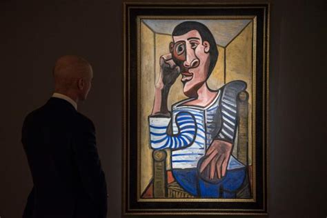 picasso paintings recent sales picasso self portrait expected to fetch 70 million