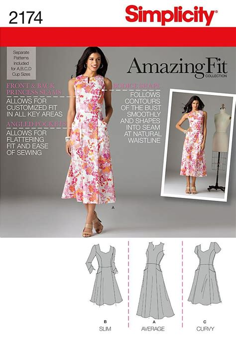 x pattern review purchase simplicity 2174 misses miss petite amazing fit
