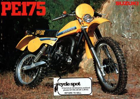 Suzuki Pe 175 Specs Variation Autour D Une 125 Rm Le Guide Vert