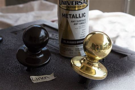 Spray Paint Door Knobs by 5 Spray Paint Diys To Creatively Update Your Space Room