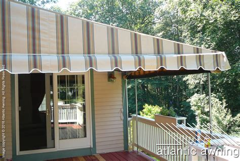 free standing awnings for decks stationary free standing patio deck awnings atlantic