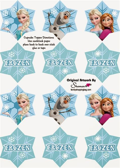 printable disney frozen cupcake toppers free printable cupcake toppers and wrappers for your