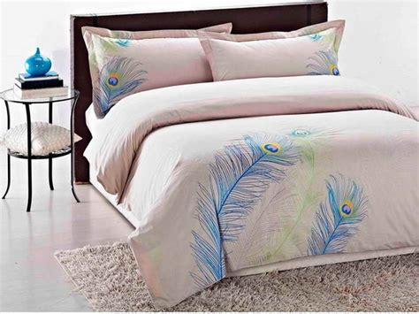 Feather Bedding Sets Peacock Bedrooms Peacock Feather Duvet Cover Set Peacock Duvet Cover Set Interior Designs