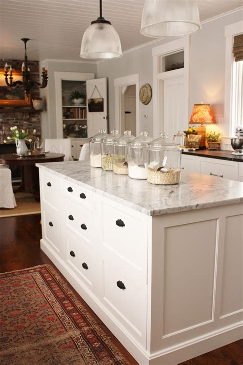 kitchen island with drawers for the love of a house kitchen drawers the island