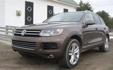 volkswagen touareg 2011 2011 volkswagen touareg tdi executive editors notebook