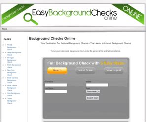 Nationwide Background Check Free Easybackgroundchecksonline Nationwide Background