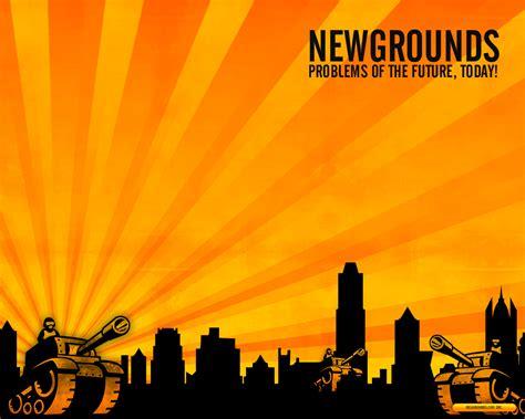 ne cgrounds newgrounds wallpaper by quikfox on deviantart