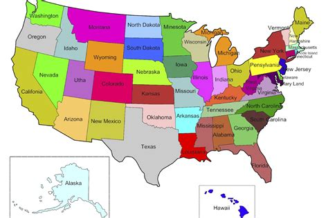 map of states state tax information