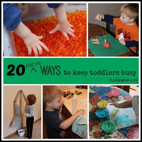 for toddlers 20 toddler activities