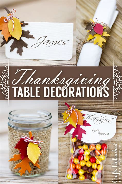 thanksgiving decorations thanksgiving table decor easy festive crafts unleashed