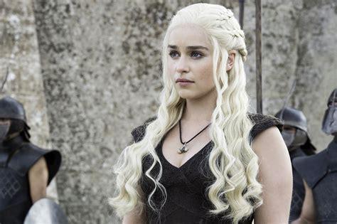daenerys hairstyle game of thrones hair designer on jon snow daenerys hair
