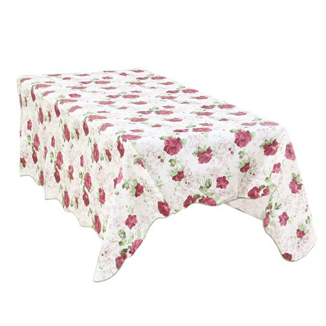 unique bargains home picnic peony printed oil proof