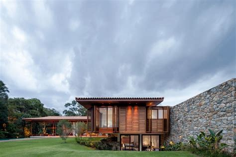 modern house in country modern country house with a brazilian farm look