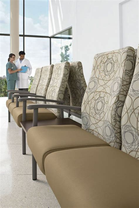 Hospital Waiting Room Furniture by The Series Includes Individual Chairs For Patient Rooms