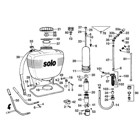 backpack sprayer parts diagram best backpack sprayers for your yard and garden