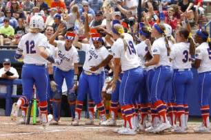 College softball world series 2015 sunday results highlights