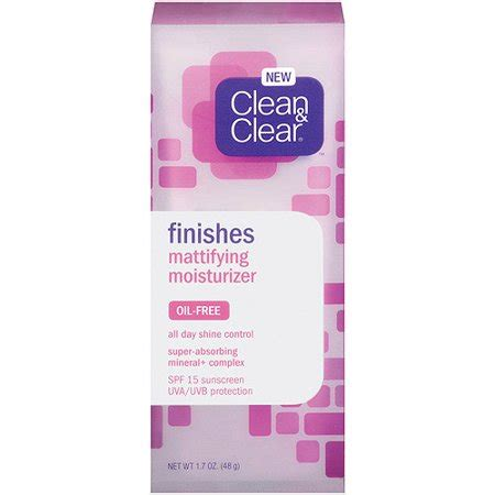 Harga Clean N Clear Essential Moisturizer johnson johnson clean clear finishes mattifying