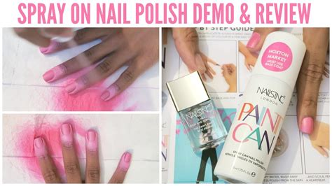 Nail Nail Paint by Does It Work Nails Inc Paint Can Spray On Nail