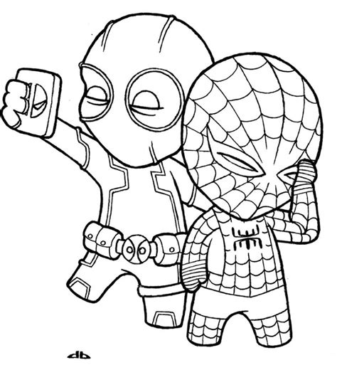 cute deadpool coloring pages 100 ideas easy deadpool drawings on spectaxmas download