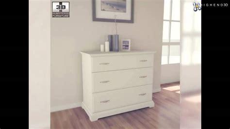 ikea birkeland kommode ikea birkeland chest of 3 drawers 3d model from