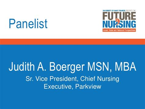 Msn Mba Vs Np by Future Of Nursing Fort Wayne